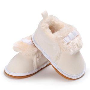 Frankmall®Bébé garçon fille bottes de berceau semelles molles prémarcher chaussures chaudes MARRON#WQQ0926400 dpsCjk