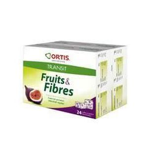DIGESTION - TRANSIT  Ortis Fruits & Fibres Cubes à Mâcher Lot de…