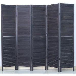 paravent de s paration achat vente paravent de s paration pas cher cdiscount. Black Bedroom Furniture Sets. Home Design Ideas