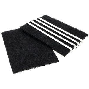 FILTRE POUR HOTTE Filtres a charbon par 2 (225x157mm) pour Hotte Bra