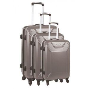 SET DE VALISES Set de 3 valises 4 roues carbon robust victoria gr