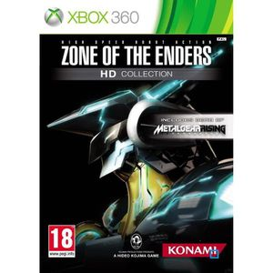 JEU XBOX 360 ZONE OF THE ENDERS HD COLLECTION + DEMO JOUABLE