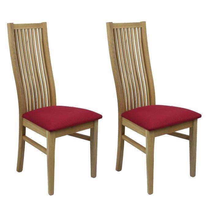 Tissus Pour Chaise Salle A Manger: Lot 2 Chaises Salle à Manger