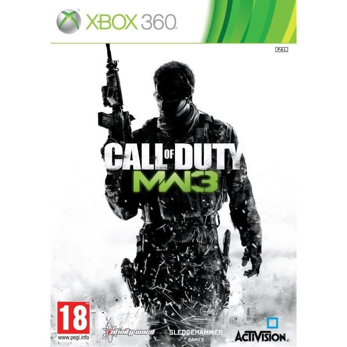 JEUX XBOX 360 Call Of Duty Modern Warfare 3 Jeu XBOX 360