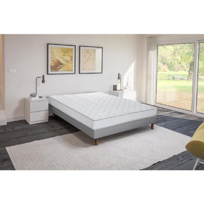 sommier et matelas 140x200 ferme. Black Bedroom Furniture Sets. Home Design Ideas