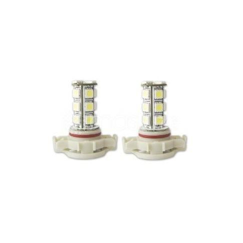 PHARES - OPTIQUES 2 x Ampoules 18 LED SMD - PS19W - Blanc