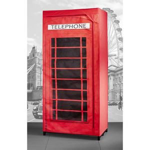 cabine telephonique anglaise achat vente pas cher. Black Bedroom Furniture Sets. Home Design Ideas