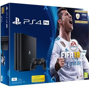 CONSOLE PS4 PS4 Pro 1 To + FIFA 18