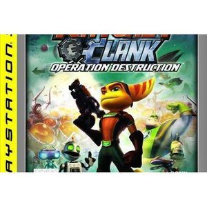 JEU CONSOLE RÉTRO Ratchet and Clank : A crack in Time (PLATINUM)