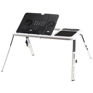SUPPORT PC ET TABLETTE Bureau de Lit pliable, Table de Lit PC Portable, P