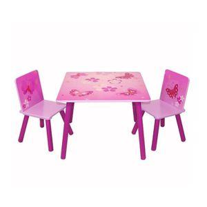 Table et chaise enfant fille achat vente table et - Table en verre pas chere ...