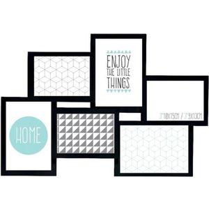 cadre photo multivues achat vente pas cher. Black Bedroom Furniture Sets. Home Design Ideas