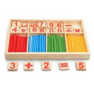JEU D'APPRENTISSAGE garçon fille 3D Puzzles mathématiques jouets en bo