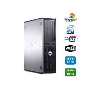 UNITÉ CENTRALE  PC DELL Optiplex 380 DT Core 2 Duo E7500 2,92Ghz 4