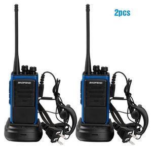TALKIE-WALKIE JOUET BF-888S 400-470 MHz Walkie Talkie Radio + Ecouteur