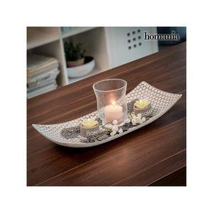 Alessi Bm01 W Bark Centre De Table Blanc Centre De Table