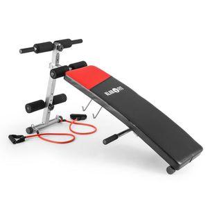 BANC DE MUSCULATION Klarfit Hiup - Banc de musculation pour entraîneme
