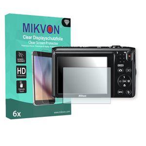 FILM PROTECTION PHOTO 6x Mikvon Clear film de protection d'écran pour Ni