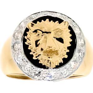 320854ee7a25 Chevalière Homme Tête de Lion Or… Or jaune - Achat   Vente ...