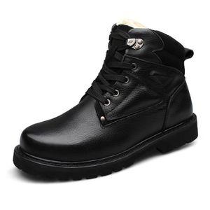 Neige 003 Hommes D'homme Noir Bottes Chaussures 48 De D'hiver QCoBrxdeW