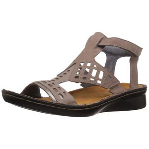BOTTINES - BOOTS Women's String Flat Sandal SW8IY Taille-36