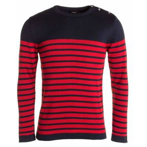 ac3fc4a94 Pull homme col rouge - Achat / Vente pas cher