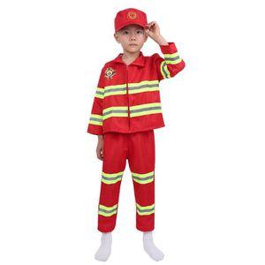DÉGUISEMENT - PANOPLIE Déguisement Pompier Enfant Unisexe Costume Carnava