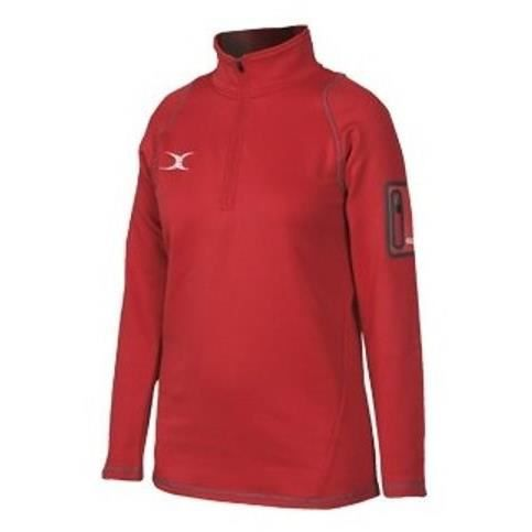 GILBERT Polaire Quest micro - Homme - Rouge