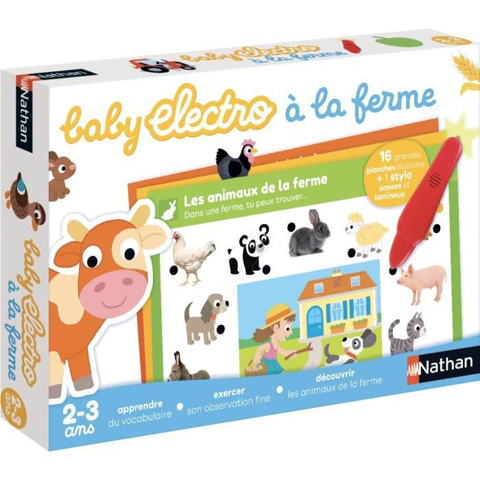 NATHAN Baby Electro - La Ferme NEW PACK