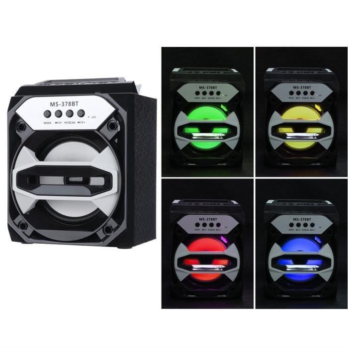 Extérieur Sans Fil Bluetooth Haut-parleur Portable Super Bass Avec Radio Usb - Tf Aux Fm Scy80807111_1788