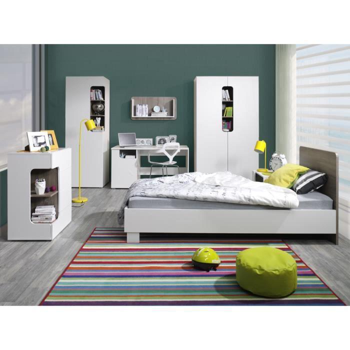 Chambre Coucher Rico Compl Te Design Pour Enfant Compos E De 6 L Ments Lit Chevet