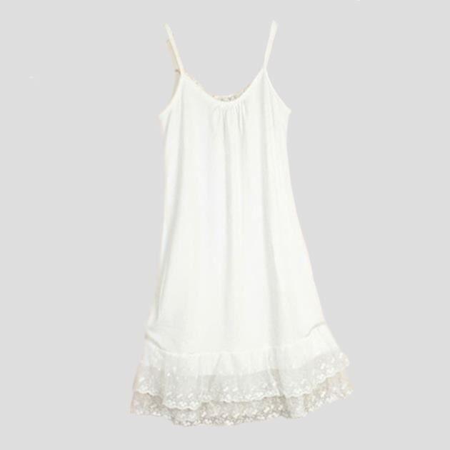 Fond de robe coton pas cher