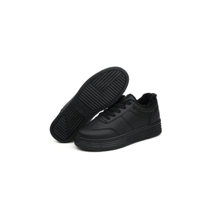 Chaussures Detente femmes chaussures blanches à fond épais unique de chaussures les chaussures de loisirs faible pour aider les