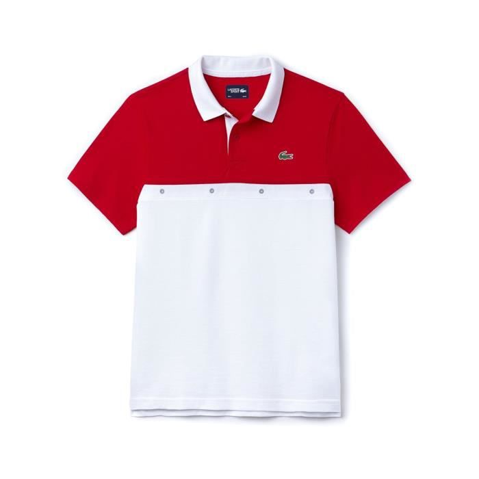 8674cef9ccc Polo Lacoste Sport YH3130 Rouge Rouge Rouge - Achat   Vente polo ...