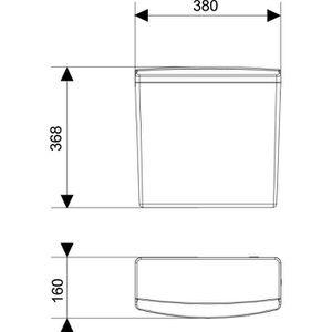 reservoir wc haut achat vente pas cher. Black Bedroom Furniture Sets. Home Design Ideas