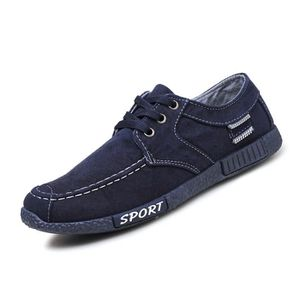 Chaussures En Toile Hommes Basses Quatre Saisons Populaire WYS-XZ114Bleu43 kSm4iPFLs