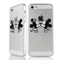 Housse Protecteur Coque Iphone 5 5s Mickey Minnie Bisous Swag
