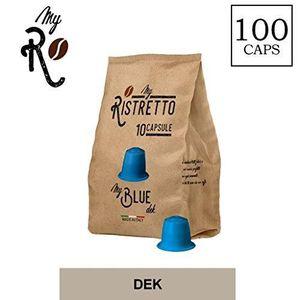 CAFÉ - CHICORÉE 100 Capsules  de Cafè MyBlue Dek compatibles avec