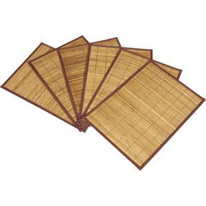 set de table bambou achat vente set de table bambou pas cher cdiscount. Black Bedroom Furniture Sets. Home Design Ideas
