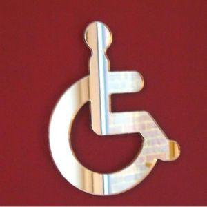 Panneau handicape achat vente pas cher for Porte handicape