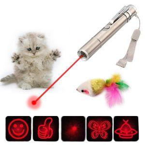 LUMIERE PULSEE - LASER Stylo de Lumière LED Pointeur Laser Souris Jouet T