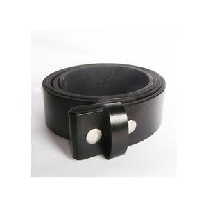 CEINTURE ET BOUCLE 2XL 135 cm ceinture en cuir véritable noir homme f ... 2a1210cfacc