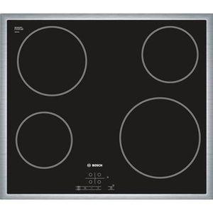 PLAQUE VITROCÉRAMIQUE  Plaque de cuisson vitrocéramique BOSCH PKE645B17E
