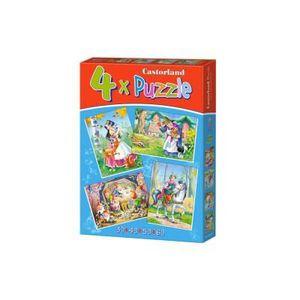PUZZLE 4 Puzzles : Blanche Neige et les 7 Nains