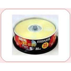 CD - DVD VIERGE MAXELL CD-R XLII 80 CD Audio Boche de 25 disque…