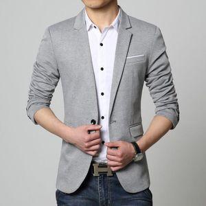 VESTE Veste de Costume Slim Fit Blazer Homme Vêtements H