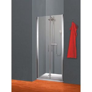 PORTE DE DOUCHE Portes de douche battantes en niche 90x190 cm, par