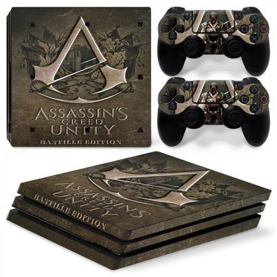 Autocollant - TN-P4PRO-0628-Vinyle protection Peau sony playstation pro Decal ps pro console