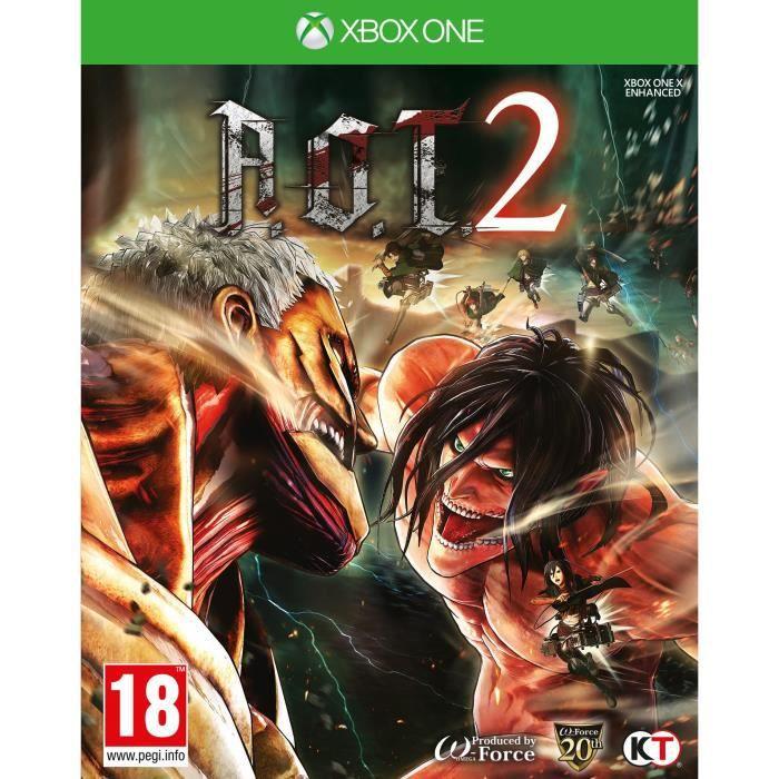 L'attaque des Titans 2 Jeu Xbox One