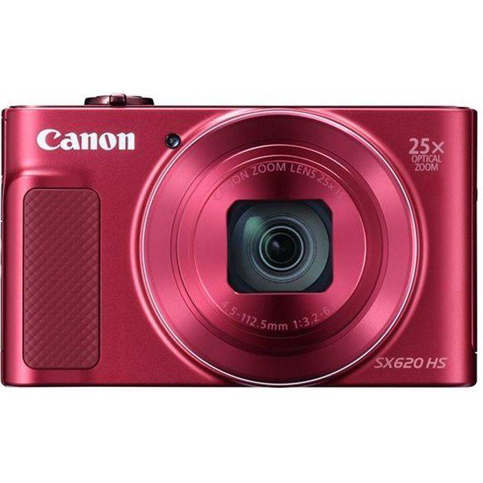 CANON PowerShot SX620 HS - Appareil photo numérique compact - Rouge